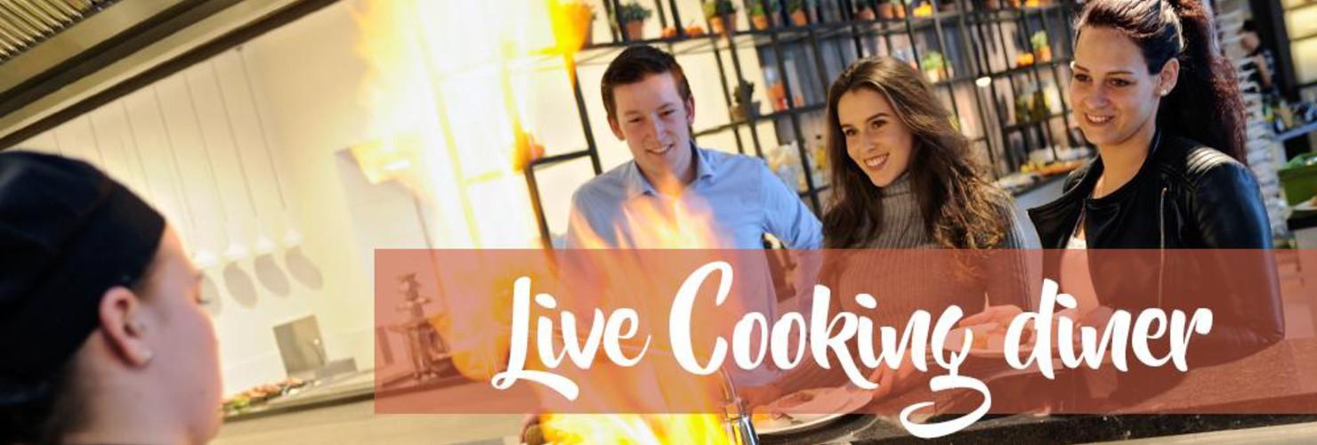 Live Cooking Diner Hotel Tiel